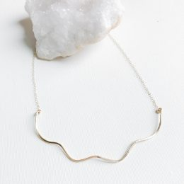 Sterling Silver or 14K Gold Filled Necklace