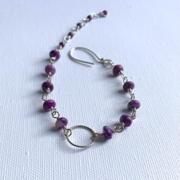 Purple Jasper and Garnet