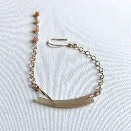 Horn & Amazonite Bracelet