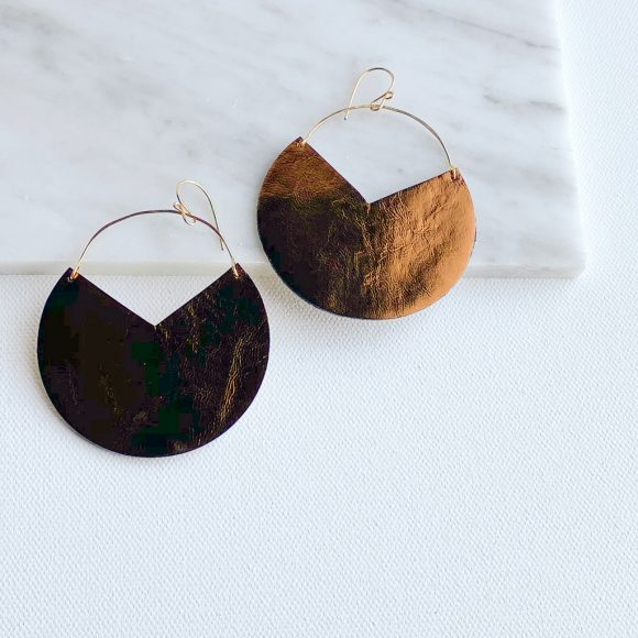 Rayla Leather Earrings